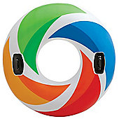 Intex Inflatable Colour Whirl Swimming Pool Ring