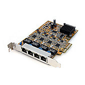 4Port PCI Express Gigabit Ethernet NIC Network Adapter Card
