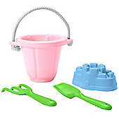 Green Toys SNDP-1023 Sand Play Set (Pink)