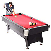 Strikeworth Pro American Deluxe 7ft Pool Table With Red Cloth