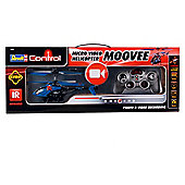 Revell Control RC Moovee Helicopter with Gyro, Video Camera & Memory Card.