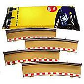 Scalextric C8238 4X Rad4 Outer Borders Barriers