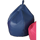 Ashcroft Classic Small Indoor Bean Bag - Blue