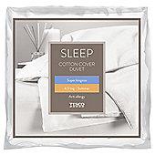 Tesco Anti-Allergy Superking Duvet 4.5 Tog Cotton Cover
