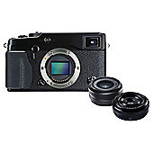 Fuji X-Pro 1 Compact System Digital Camera plus 18mm & 27mm Lens , 16MP CMOS Sensor
