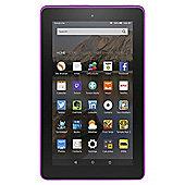 "Amazon Fire 7, 7"", Tablet, 16GB, WiFi - Magenta"