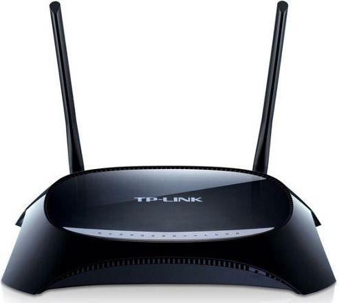 TP-Link TD-VG3631 300Mbps Wireless N VoIP ADSL2+ Modem Router (Black)