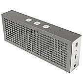 HMDX Jam Titanium Bluetooth Speaker, Silver