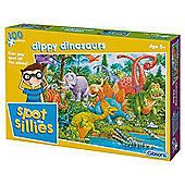 Spot the Dippy Dinosaurs 100XXL pc age 5+