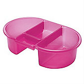 Tippitoes Top n Tail Bowl (Pink)
