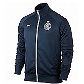 2013-14 Inter Milan Nike Core Trainer Jacket (Navy)