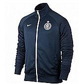 2013-14 Inter Milan Nike Core Trainer Jacket (Navy) - Navy
