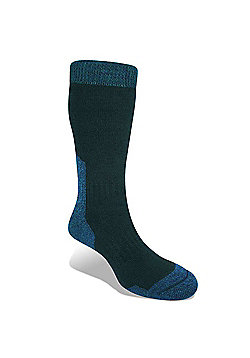 Bridgedale Mens Merino Fusion Summit Sock - Blue