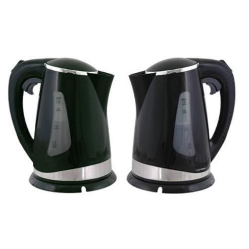 Lloytron E895BK 1.7 litre 2.2kw 360 Cordless Kettle - Black