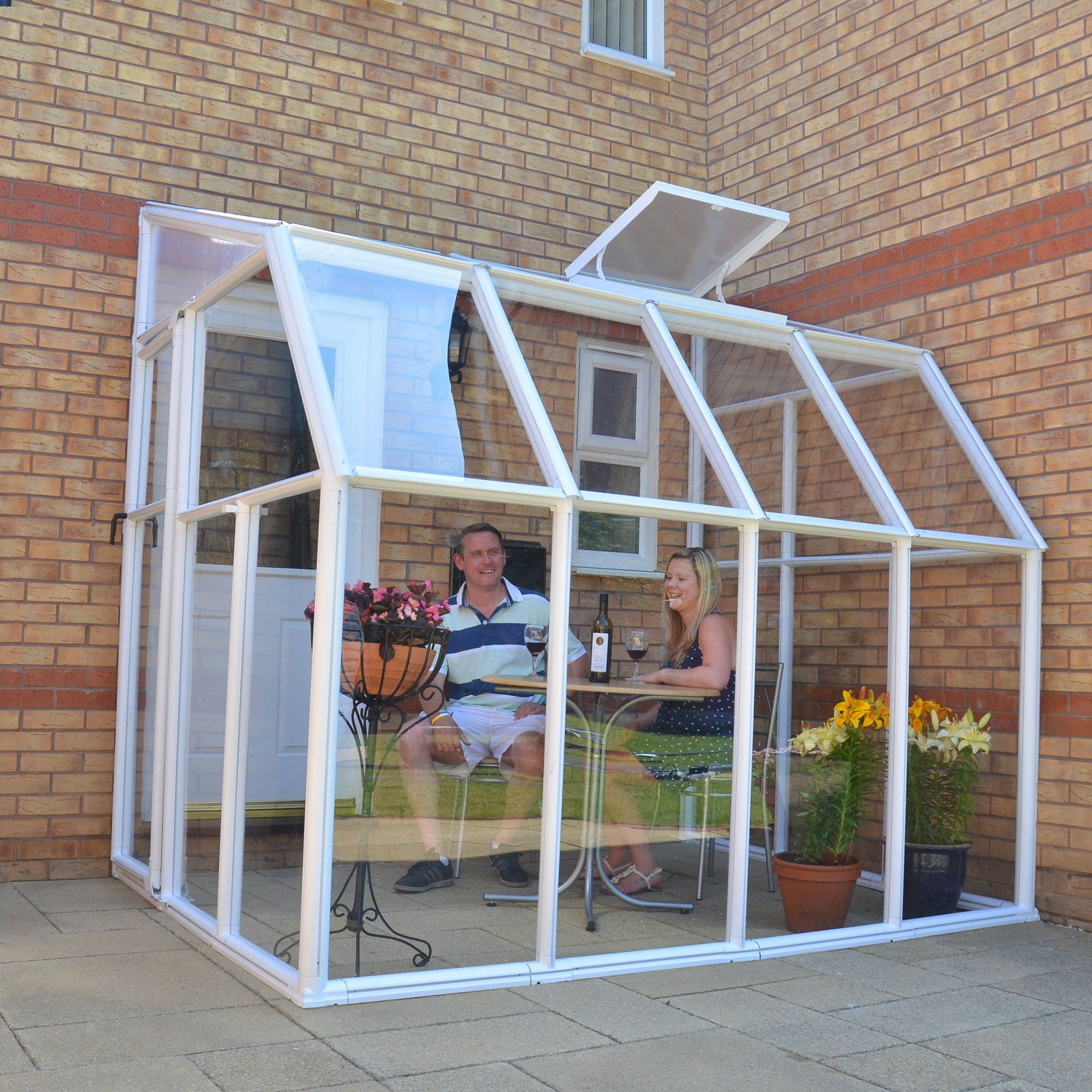Sun Room Clear 6X8 at Tesco Direct