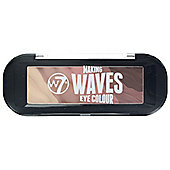 W7 Making Waves Eye 5 Colour Eyeshadow Palette-Fools Gold