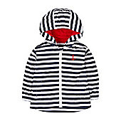 Mothercare Striped Mac Size 18-24 months