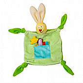 Taf Toys Rabbit Blankie - Green