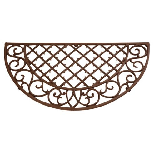 Fallen Fruits Cast Iron Half Round Doormat