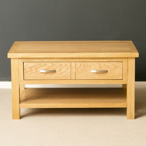 Buy london oak coffee table light oak from our coffee tables range tesco Light oak coffee tables