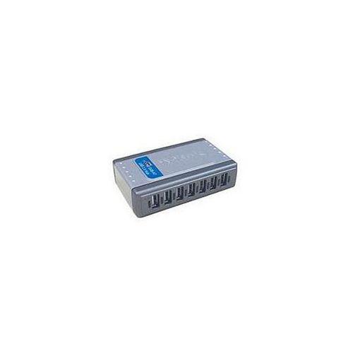 D-Link Systems DUB-H7 Hi-Speed 7 Port USB 2.0 Hub Silver