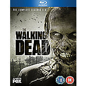 The Walking Dead Season 1-4 (Blu-ray)