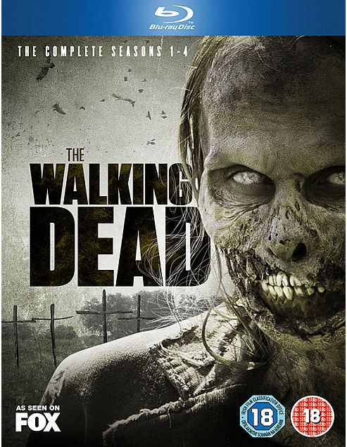 The Walking Dead Season 1-4 Blu-ray