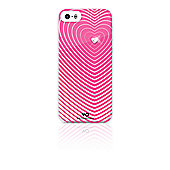 White Diamonds Heartbeat Clip Case for iPhone 5 and iPhone 5s