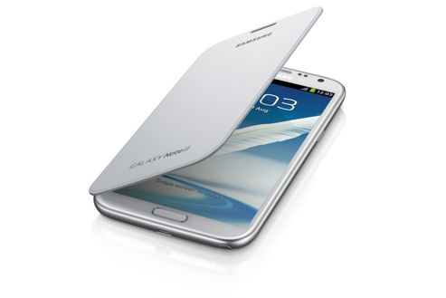 Samsung Original Galaxy Note 2 Flip Case White