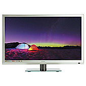 Technika 22E21S-FHD/DVD 22 Inch Full HD 1080p Slim LED TV/DVD Combi With Freeview - Silver