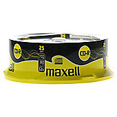 Maxell CD-R spindle - pack of 25