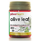Power Health Olive Leaf 450mg 30 Tablets