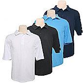 4 Woodworm Golf Polo Shirts - Mens Golf Clothes Medium