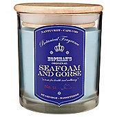 Botanicals Candle Jar, Seafoam & Gorse