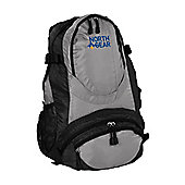 North Gear Camping Bola 30L Rucksack Backpack Black