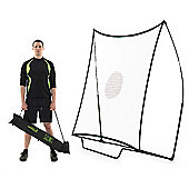 QuickPlay Multisport Spot Rebounder Football Goal, 7ft x 7ft