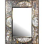 Alterton Furniture Gifts and Accessories Map Wall Mirror