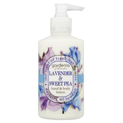 Gardenia of London Lavender & Sweet Pea Hand & Body Lotion