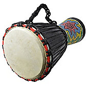 A-Star 9 inch Painted Djembe.