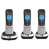 British Telecom 2600 Trio Handsfree Phones with 50 Name and Number Memory