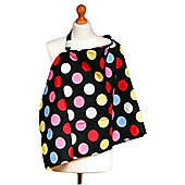 Palm & Pond Breastfeeding Cover - Spotty Dots