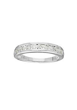 9ct Gold 0.75 Carat Eternity Diamond Ring