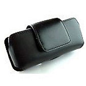 Leather Case Black horizontal