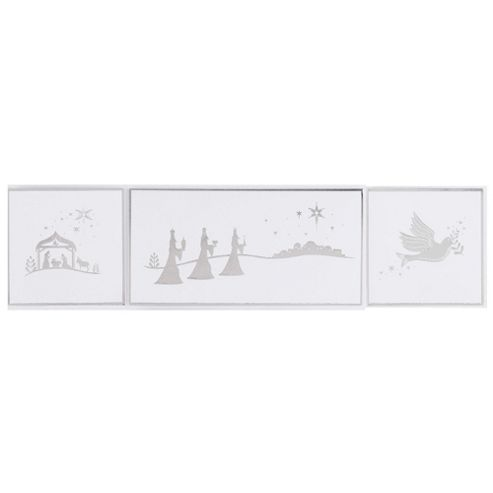 Tesco Religious Scenes Christmas Cards, 30 Pack