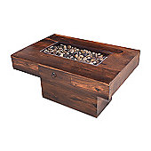 Maharajah Indian Rosewood Pebble Coffee Table (60x90)