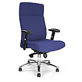 Enduro Managers High-Back Executive Chair - Blue