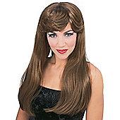 Rubies Fancy Dress Costume - Glamour Wig - Auburn