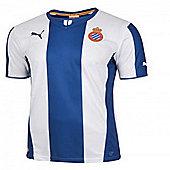 2013-14 Espanyol Puma Home Football Shirt - White