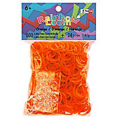Rainbow Loom Orange Bands - Arts and Crafts