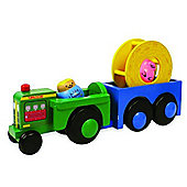 Great Gizmos Tumblekins Real Wood Farm Playset